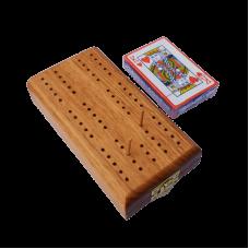 Blackwood Cribbage Board