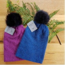 Kids Possum Fur & Merino Wool Beanie