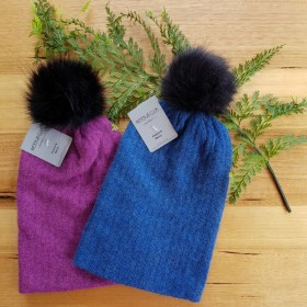 Kids Possum Fur & Merino Wool Beanie