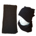 Pure Wool Neckwarmer - Black