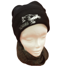 Thinsulate Black Beanie - Tas Devil