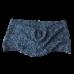 Merino Wool Black & White Cowl Scarf
