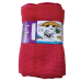 Pure Merino Wool Long Scarf - Fuchsia