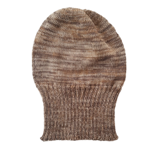 Pure Wool Beanie - Browns