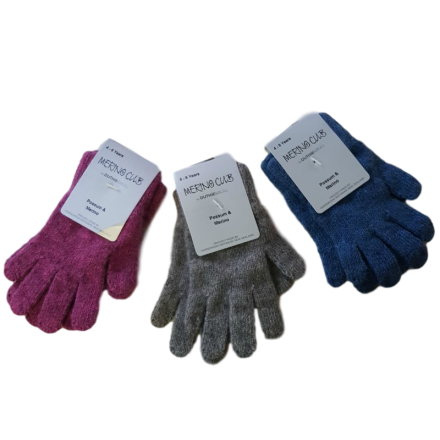 Kids Possum Merino Gloves - 4-6 years