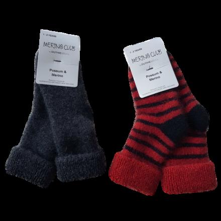 Baby Possum & Merino Socks