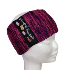 Pure Wool Headwarmer - Pinks