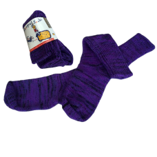 Pure Wool Socks - Purple