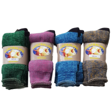Merino Wool Socks - 3 Pack, Size 2-8