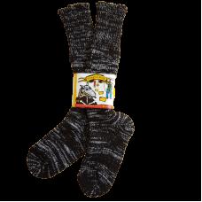 Pure Wool Black & White Socks