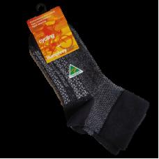 Australian Made Cycling Socks - Charcoal