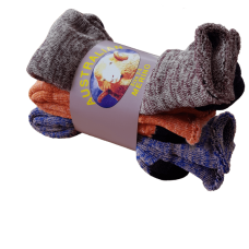 Australian Made Merino Wool Socks - Mixed Colours