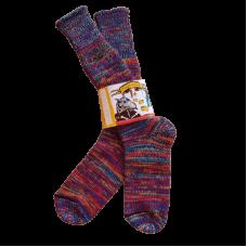 Pure Wool Socks - Multi Coloured