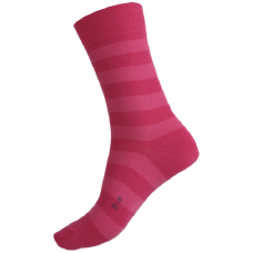 Alpaca Blend Pink Stripe Health Socks