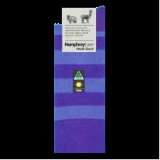 Purple Stripe Humphrey Law Health Sock