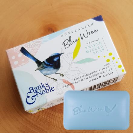 "Australian ""Blue Wren"" Soap"