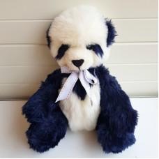 Handmade Teddy - Navy & White