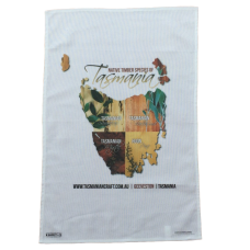 Souvenir Tea Towel- Tasmania's Native Timbers