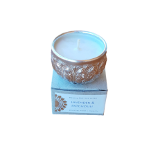 Soy Hand Poured Candle in Small Blessing Bowl