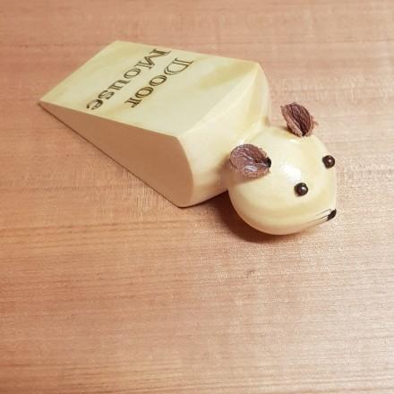 Huon Pine Door Wedge - Mouse Design