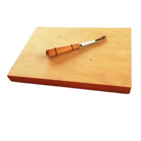 Huon Pine Cheese Board with Knife