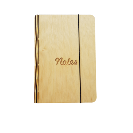 Huon Pine Notebook Cover