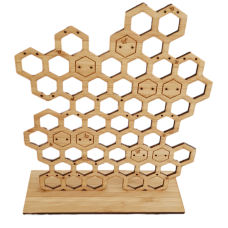 Honeycomb Earring Holder - Large