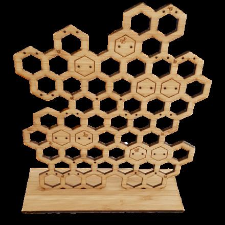 Honeycomb Earring Holder - Large
