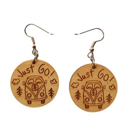 Bamboo Earrings - Just Go