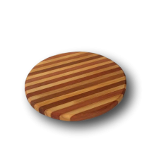 Small Round Laminated Timber Cheese Board