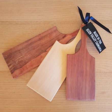 Mixed Timbers -  Set of Three Cheeseboards