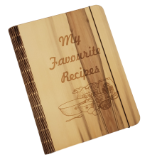 Sassafras Veneer Recipe Book Cover