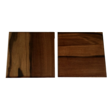 Set of Two Sassafras Coasters